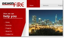 Design Fire Website Perth WA <br/>click to view