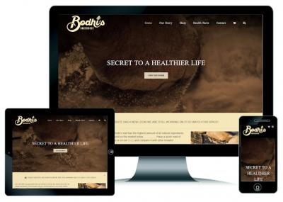 Bakery Website Design Perth