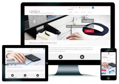 Accountant Website Design Perth