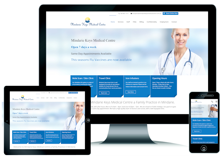 Medical Centre Website Perth