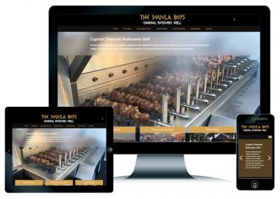 Catering Website Design Perth