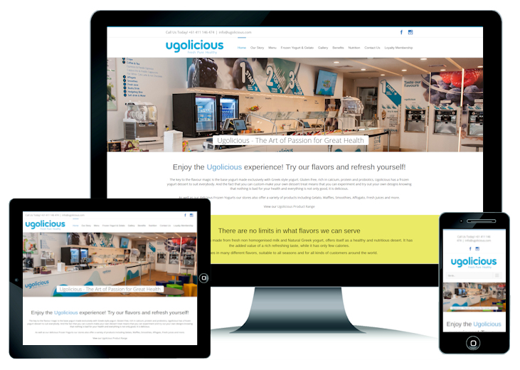 Ugolicious Website Design Perth WA
