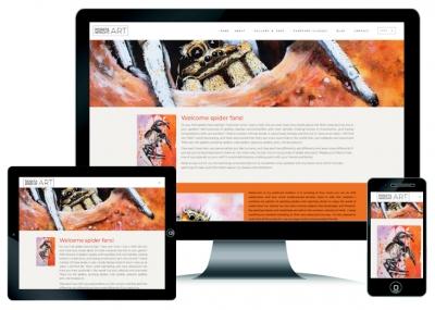 Website Design same of Renata Wright Art