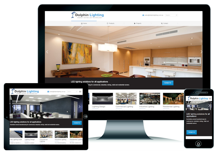 Dolphin Lighting Website, click to view